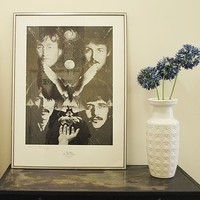 Original Beatles Limited Edition Poster