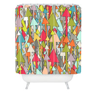 Sharon Turner Earth Up Shower Curtain