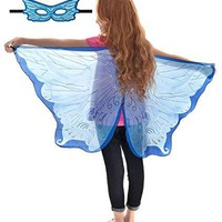 Douglas Toys Dreamy Dress-Ups 50583 Blue Fairy Wings and Matching Mask