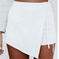 Fashion hot irregular short skirt