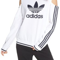 adidas Cold Shoulder Sweatshirt | Nordstrom