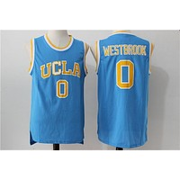 Online NCAA University Basketball Jersey UCLA Bruins # 0 Russell Westbrook