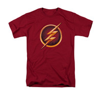 The Flash TV Show Chest Logo Mens T-Shirt