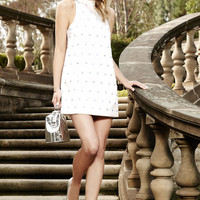 Keepsake Come a Little Closer Ivory Sequin Dress