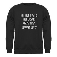 Wanna Hook Up? Sweatshirt by TateLangdon