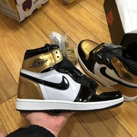 cc kuyou AIR JORDAN GOLD EXCLSUSIVE