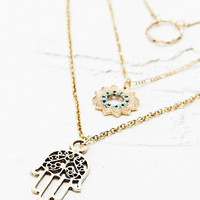Layering Necklaces in Gold - Urban Outfitters