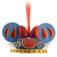disney parks princess snow white christmas holiday ear hat ornament new with tag