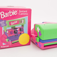 Polaroid Barbie Cam with original box - Tested and Works perfectly polaroid 600 film PX680 Pink and Purple