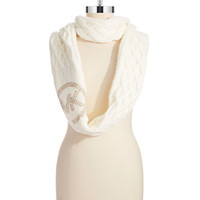 Michael Michael Kors Cable Knit Infinity Loop Scarf