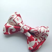 Red and White Bow Tie, Doctor Who Baby, Bow Tie, Bow Ties Toddler, Newborn Bow Tie, Doctor Who, Bowtie, Boys Bow Tie