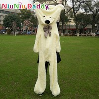 "Niuniu Daddy200cm/79"" inch,Big Plush toys,Semi-finished bear, Plush Bear Skin,plush teddy bear skin,Free Shipping"