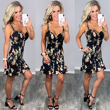 You Complete Me Floral Dress