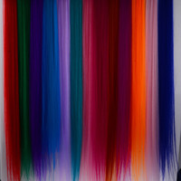 ROMWE | 10 Multi-Coloured Clip On Hair Extensions, The Latest Street Fashion