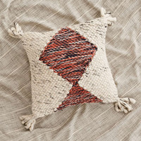 Marled Diamond Pillow - Urban Outfitters