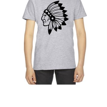 chief indian - Youth T-shirt
