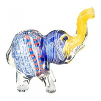 """Assorted Elephant Hand Pipe 3.5"""""""