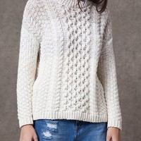 Two-tone braided jersey - KNITWEAR - WOMAN | Stradivarius Republic of Ireland