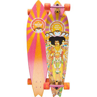 Dusters California Hendrix Axis Bold Longboard Orange/White One Size For Men 22221574901