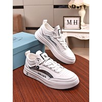 prada men fashion boots fashionable casual leather breathable sneakers running shoes 7