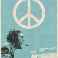 John Lennon - People for Peace Posters at AllPosters.com
