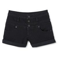 """Mossimo Supply Co. Junior's High Waisted 3"""" Denim Short - Assorted Colors"""