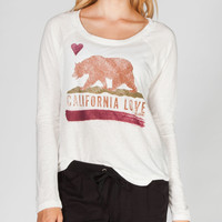 Billabong West Coast Rides Womens Tee White  In Sizes