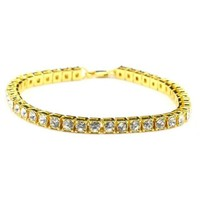 14k Gold Plated Tennis Bracelet