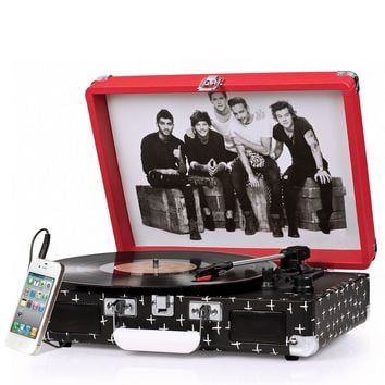 Crosley Cruiser Turntable CR8005A-OD - It's Portable! - One Direction Limited Edition - PRE-ORDER, Ships Early November