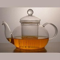 Classic Design 28 Ounce Glass Tea Pot