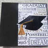 6x6 Graduation Scrapbook Album