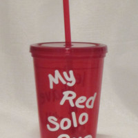 Red Solo Cup 16 oz Tumbler