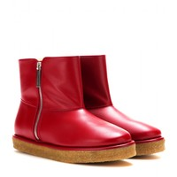 stella mccartney - brompton faux-leather ankle boots