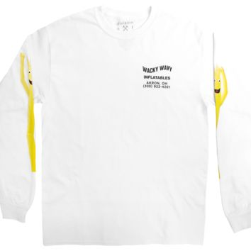 Wacky Wavy Inflatable Goof Long Sleeve Graphic Tee by DOL