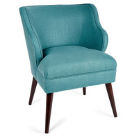 Kira Chair, Teal, Accent & Occasional Chairs