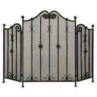Fireplace Screen - Tri-fold