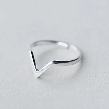 Victorious Sterling Silver Ring