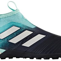 adidas Men's ACE TANGO 17+ PURECONTROL TF Turf Soccer Cleats (Energy Aqua)