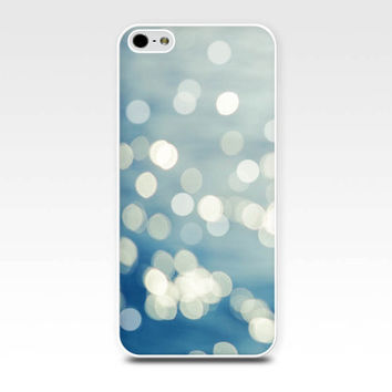 bokeh iphone case 5s iphone 6 case abstract iphone case 4s nautical iphone case 5 ocean iphone case 4 abstract water blue gray photography
