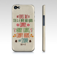 iPhone or Samsung Galaxy phone case The four food groups of the elves! Buddy the Elf Quote - #candy #buddytheelf #buddy #holidays #christmas