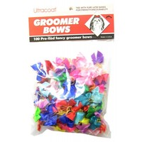Pet Supply Imports Ultracoat Groomer Bows Pre-Tied Deluxe Groomer Bows Dog Bows