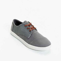 TOMS Paseo Canvas Leather Lace-Up Shoe