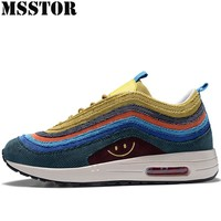 MSSTOR 2018 New Men Running Shoes Man Brand Outdoor Athletic Sports Run Breathable Men's Sneakers Walking Sport Shoes For Male