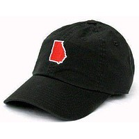 GA Athens Gameday Hat in Black by State Traditions
