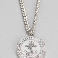 Rust & Regret Anchor Necklace - Urban Outfitters