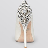 Badgley Mischka Peep Toe Platform Evening Pumps - Kiara High Heel | Bloomingdales's