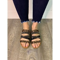Very G Ginger Sandals (Tan Leopard) FINAL SALE