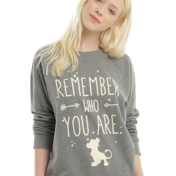 Disney The Lion King Simba Quote Girls Pullover Top