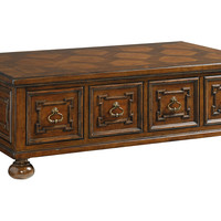 Lexington Home Brands, Pine Valley Storage Cocktail Table, Coffee Table Base