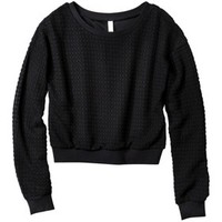 Xhilaration® Junior's Sweater Knit Top - Assorted Colors